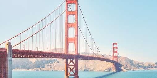 Golden gate bridge san francisco usa PDMU8 RZ